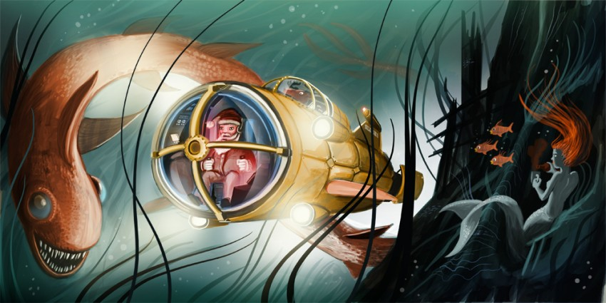 Unterwassernikolaus